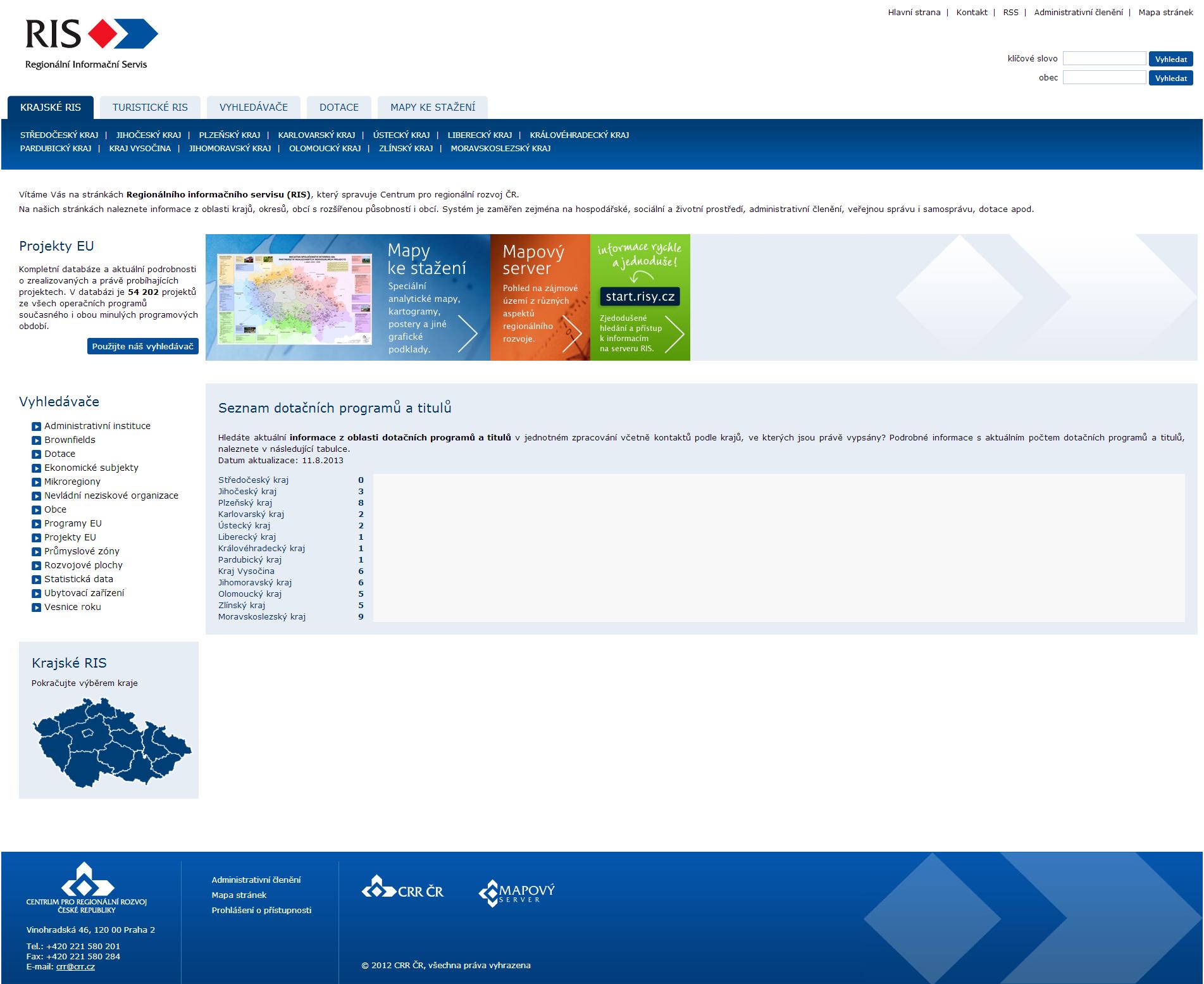Regionální informační servis
